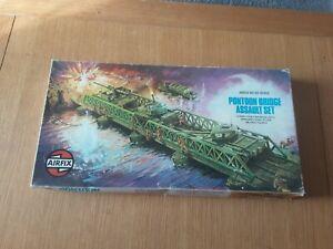 Airfix Pontoon Bridge Assault Set Ho Oo