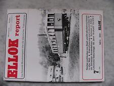 Ellok Report 7/1980 Eisenbahn Zeitschrift Schweizer Bundesbahnen Athen Krokodil
