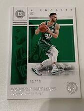 2017-18 Encased Gordon Hayward #d 08/99 Boston Celtics