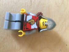 Lego Castle Minifigure: CAS449 Lion Knight Quarters from Set 7948 Outpost Attack