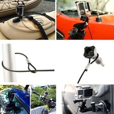 Stainless Steel Safety Strap Tether Lanyard & Screw For Gopro Hero All Session
