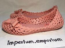 Women's Grendene x Melissa Pink PVC Sandal With Ribbon Bow Size UK 3 / US 5