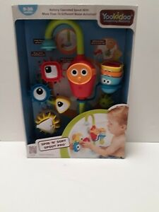 YooKidoo Spin N' Sort Spout Pro. Bathtub Water Toy, Ages 9-36 Months. New Cond.