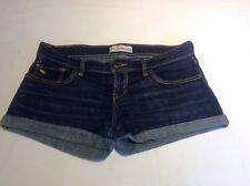 Abercrombie & Fitch Dark Blue Denim Shorts Girls Age 16