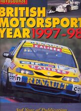 Autocourse British Motorsport Year 1997-98 Touring Cars F3 BRDC