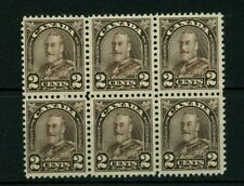 #166 TWo cent EXTENDED MUSTACHE ARch issue VF MH Cat $150 Canada mint