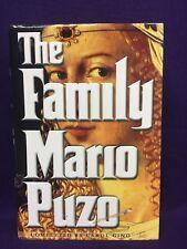 The Family Mario Puzo/ Carol Gino 1st/1st Plus Audio book FREE SHIP