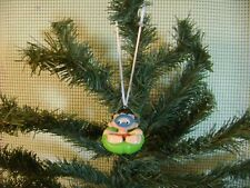custom christmas tree ornament BOBBY'S WORLD lifesaver toy vtg car mirror charm