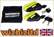 Moto securité Mammoth sable Bloque disque acier trempé Broche 6mm lod6bly