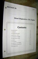 1983 1984 FORD RANGER BRONCO 2 TRUCK FACTORY 2.2L DIESEL DIAGNOSTICS &  SETTINGS