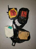 97-04 Corvette C5 OEM Driver and  Passenger side Seat Belt BLACK set  1529-15