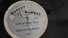 Band Of The Royal Artillery - 78rpm single 10-inch – Boosey & Hawkes #2034