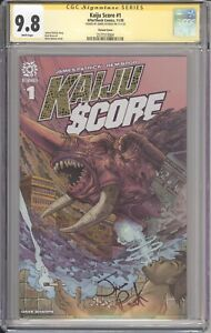 KAIJU SCORE #1 1:15 NELSON VARIANT CGC SS 9.8 SIGNED BY JAMES PATRICK