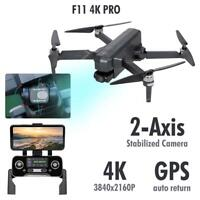 SJRC F11 4K PRO Drone Camera 4K 5G Wifi FPV GPS Quadcopter Remote Control Gifts