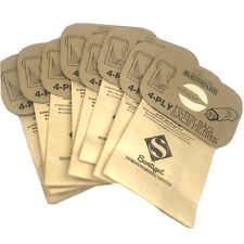 8 ELECTROLUX Vacuum Cleaner Dust Filter Bags Type C 4-PLY Sanitized Protection