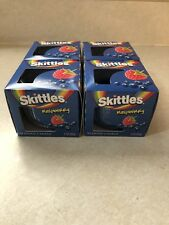 SKITTLES Raspberry Scented Candles (4) 3 oz by Star Candle Company