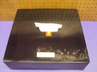 """Compact Stereo System Dust Cover Measures 14 1/4"""" x 13 1/8"""" x 4 1/2"""" Read Below"""