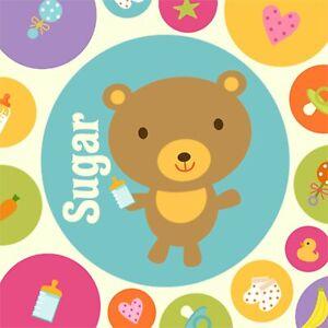 Baby Animal Dots Polka Safari Farm Baby Shower Party Paper Beverage Napkins