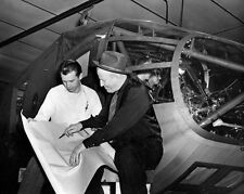 8x10 Print Northwestern Aeronautical WACO CG-13 in Production 1945 #28005454