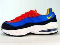 Nike Air Max 95 Boys Bright Crimson Shoes CI5643-600 Youth Size 2Y
