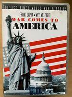 Why We Fight - War Comes to America ~ World War II Documentary WW2 UK DVD