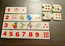 Counting Tiles Floor Activity Number Pictures Puzzle - 54 pcs Learn Education