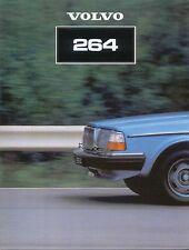 Volvo 200 Series 264 Saloon 1980/81 Original UK Sales Brochure No ASP/PV 8555-81