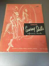 New ListingVintage 1954 Vintage Singer Sewing Co. Skills Book Guide Reference Booklet
