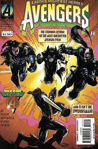 Avengers #392 (Nov 1995, Marvel) Part of the 'Crossing' event