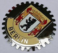 Berlin Germany car grille badge (Crest)