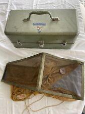 Vintage Tackle Box Rapala Daredevle Cordell Cutter Prescott Falls City Steel