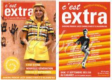 FRANCE GALL TRÈS RARE CARTE POSTALE PROMO ''C'EST EXTRA'' QUÉBEC 2005 CABARET