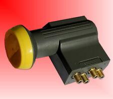 Humax LNB 143s Gold Quad Switch LNB ( 4 Teilnehmerausgänge, 40mm Feed, HDTV