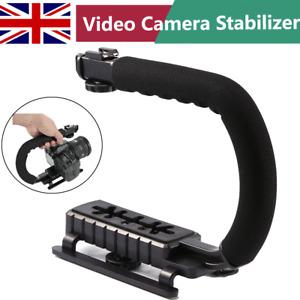 Hot! C/U Shape Video Handle Steadicam Stabilizer Grip Rig for Phone SLR Camera
