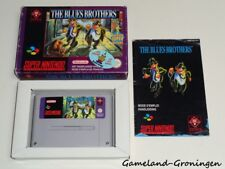 Super Nintendo / SNES Game: The Blues Brothers [PAL] (Complete) [FAH]