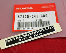 GENUINE OEM HONDA MADE IN JAPAN DECAL NAME PLATE STICKER CIVIC CRX INTEGRA