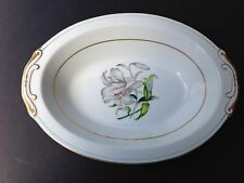 "Aladdin Fine China, Occupied Japan DONNA LILY - 10"" OVAL VEGETABLE SERVING BOWL"