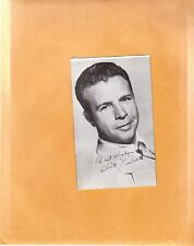 Dick Powell-dual signed vintage post card