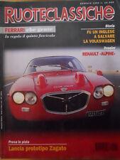 Ruoteclassiche 91 1996 - Dossier Renault Alpine - Ferrari che gente    [Q41]
