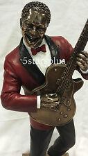NEW Jazz Band Guitar Player Statue Sculpture Figurine SHIP Immediately!!!