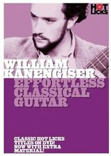 William Kanengiser Effortless Classical Guitar DVD NEW 014036136