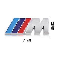 Logo M BMW Coffre et Ailles 74mm X 28mm Neuf Sous Blister