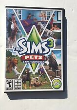 The Sims 3 Pets PC Game Complete 2011 Expansion, CIB, Complete, Tested