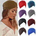 Women's Ladies Indian Hijab Knot Turban Hat Headband Casual Soft Caps Head Wrap