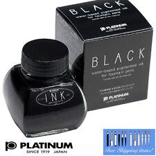 Platinum Bottle Ink INK-1200 #1 Black 60cc Made in Japan Free Ship!!