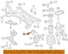 FORD OEM Front Suspension-Knuckle Upper Bolt W715490S442