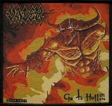 """VADER AUFNÄHER / PATCH # 5 """"GO TO HELL"""""""