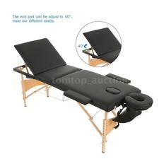 "ABODY 3 Fold 84""L Portable Massage Table Adjustable Massage Bed SPA Bed D4I4"