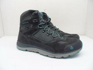 Vasque Women's Mesa Trek Mid UltraDry Waterproof Hiking Boot Ebony/Baltic 11M