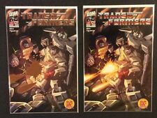 TRANSFORMERS GENERATION ONE #1 Comic Books Dynamic Forces LTD Exclusives COA NM